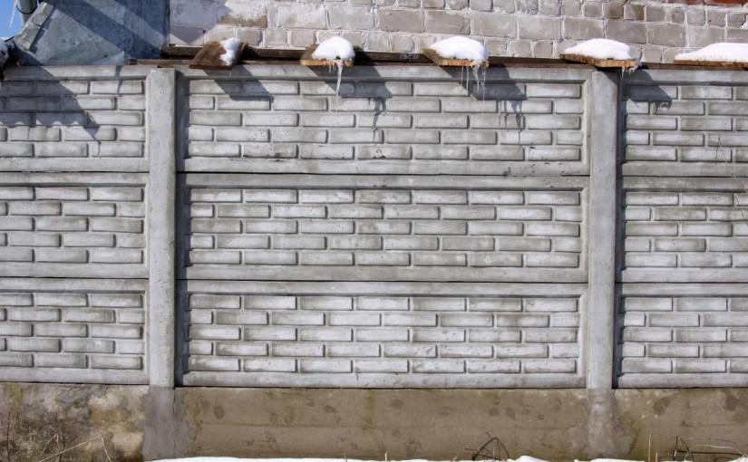 Az elemes betonkerítés telepítésének útmutatója