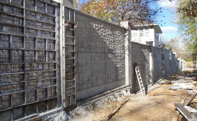 A betonkerítéssel a védelem garantált