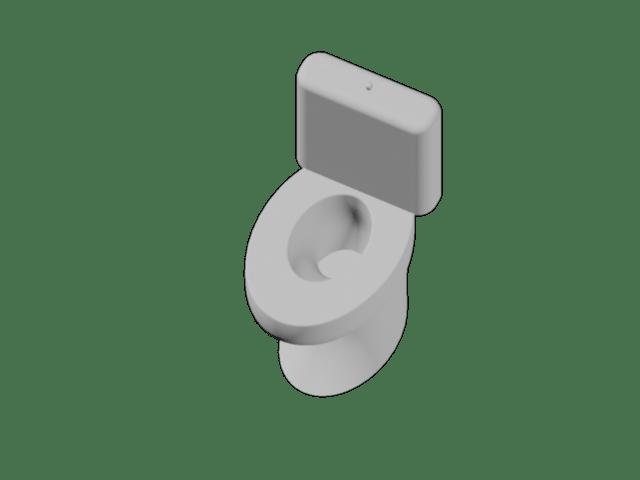 Teljesen egyedi szerkezetű monoblokkos WC